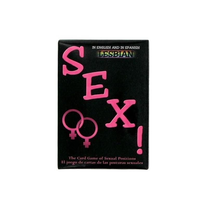 JUEGO DE CARTAS SEXUAL LESBICO