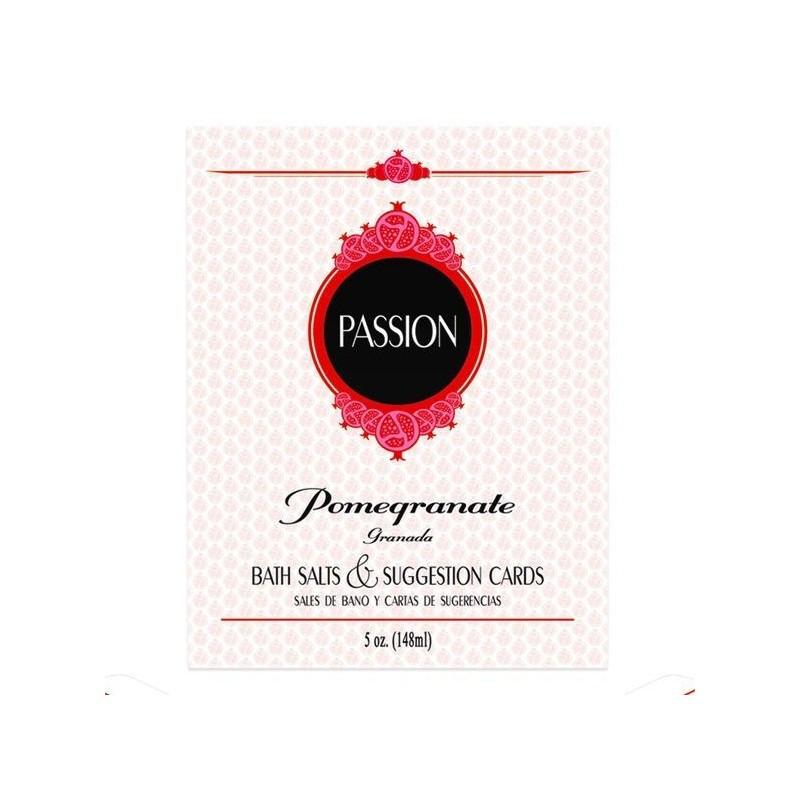 PASSION SALES DE BAÑO Y CARTAS DE LA PASION