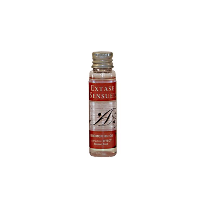 Aceite de Masaje Efecto Calor con Feromonas Frutas de la Pasión 35 ml