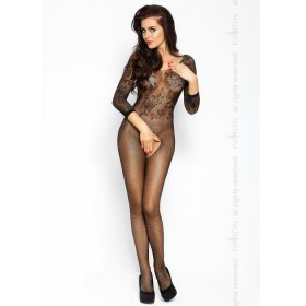 PASSION BS007 BODYSTOCKING NEGRO TALLA UNICA