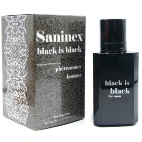 PERFUME CON FEROMONAS HOMBRE SANINEX BLACK IS BLACK