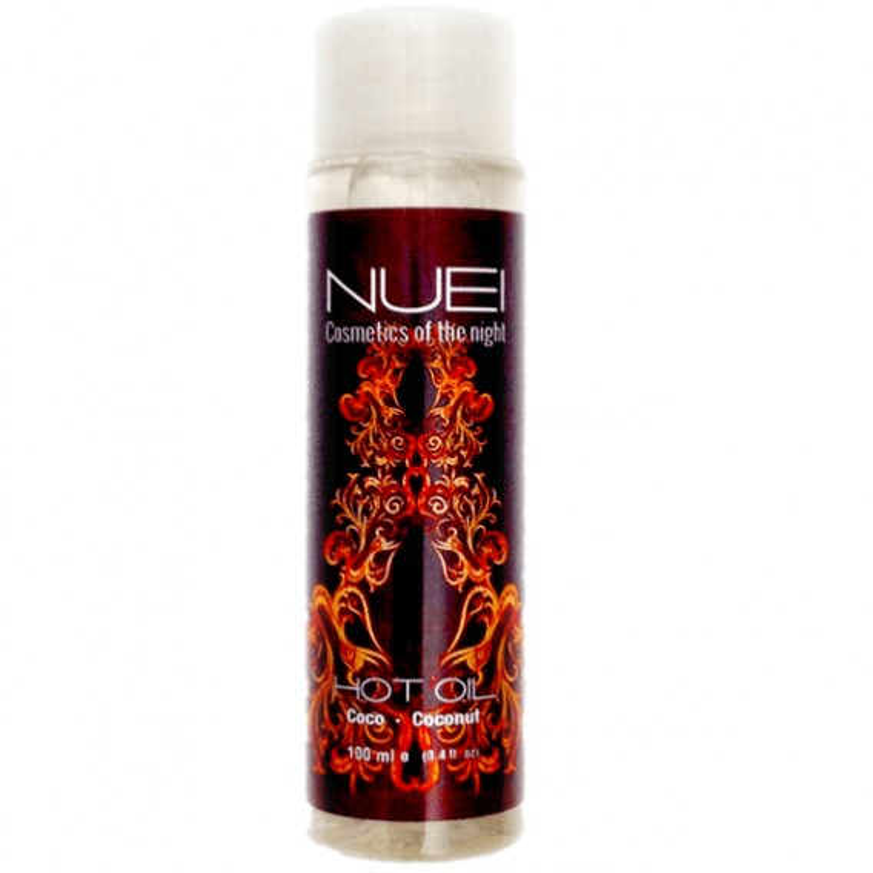 Aceite Afrodisíaco Efecto Calor NUEI Coco 100 Ml