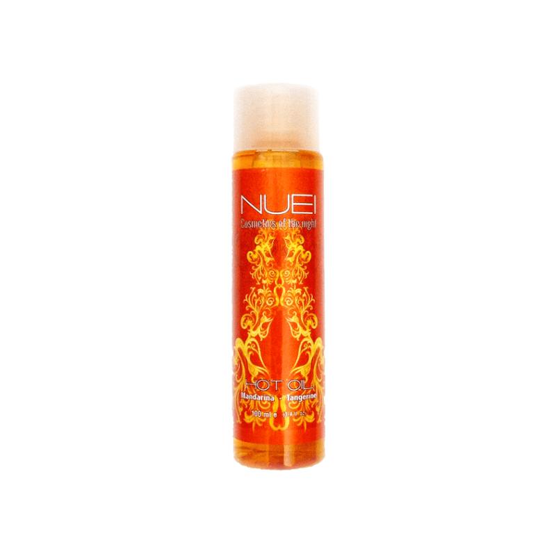 Aceite Afrodisíaco Efecto Calor NUEI Mandarina 100 Ml