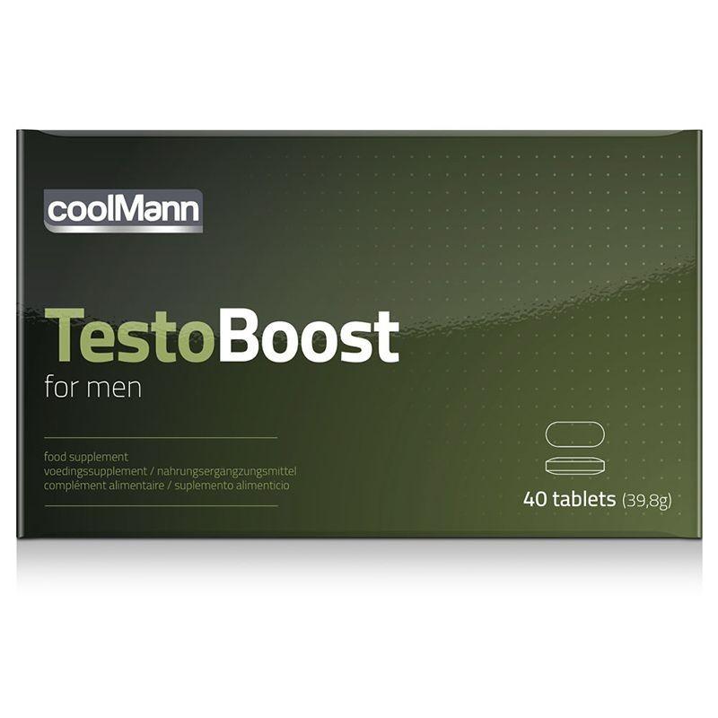Coolmann Testo Boost Potenciador 40 tabs