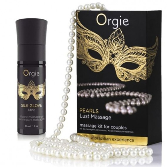 Set Masaje Para Parejas Orgie Pearl Lust Massage