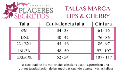 tallas lips & cherry